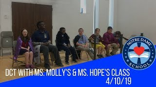 Dallas Children's Theater with Ms. Molly and Ms. Hope's Class