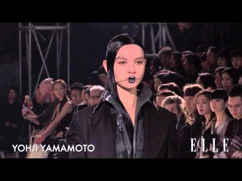 Yohji Yamamoto. Paris Fashion Week. Otoño / invierno 2016-2017
