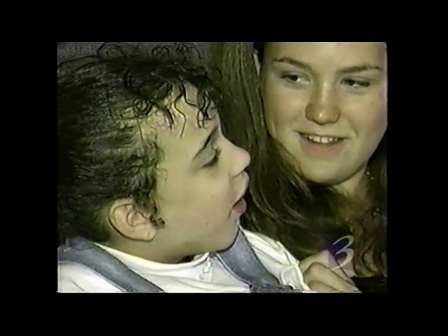 Kids Wish Network Grants Wish in 1998 for new hot tub courtesy of WWMT Ch.3