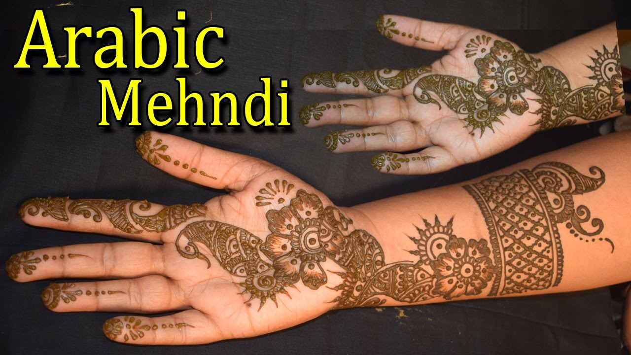 Mehndi design 2017 ki - Best Arabic Mehndi Design Easy Arabic Mehndi Design For Hands Simple Arabic Designs 2017