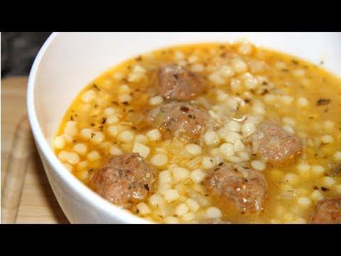 Это любовь с первой ложки! МАРОККАНСКИЙ суп с фрикадельками и кускусом.Невероятно вкусно!!!