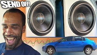 FULL SEND Bass Demo w/ Vince Jackson & EXO's 10,000 Watt Car Audio System | RIP Basshead Bro