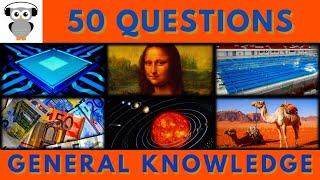 General Knowledge Quiz #30 | Trivia 50 Questions | Do You Know | Pub Quiz
