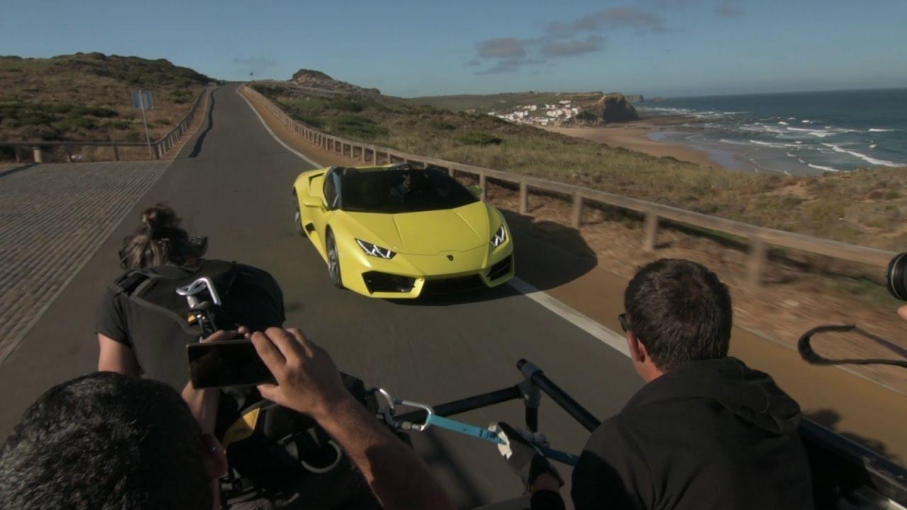 Lamborghini Huracán RWD Spyder: Behind the Scenes