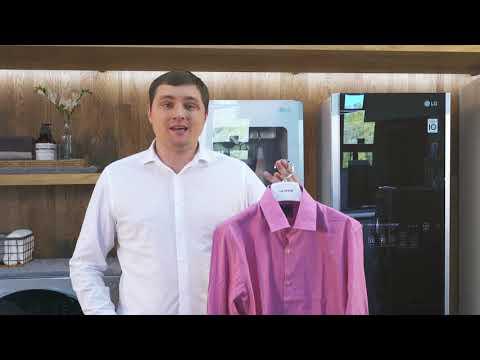 Паровой шкаф для ухода за одеждой LG S3RERB Styler (освежение)