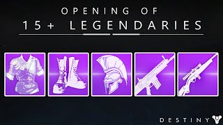 Destiny: Opening 15+ Legendary Engrams / The Search For Light Score Continues!