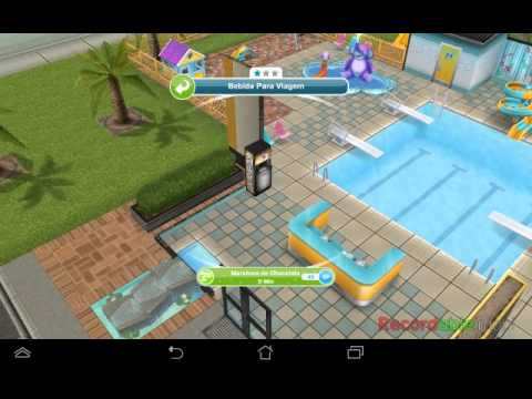 Tomar chocolate cobertura the sims freeplay youtube for Casa de diseno sims freeplay
