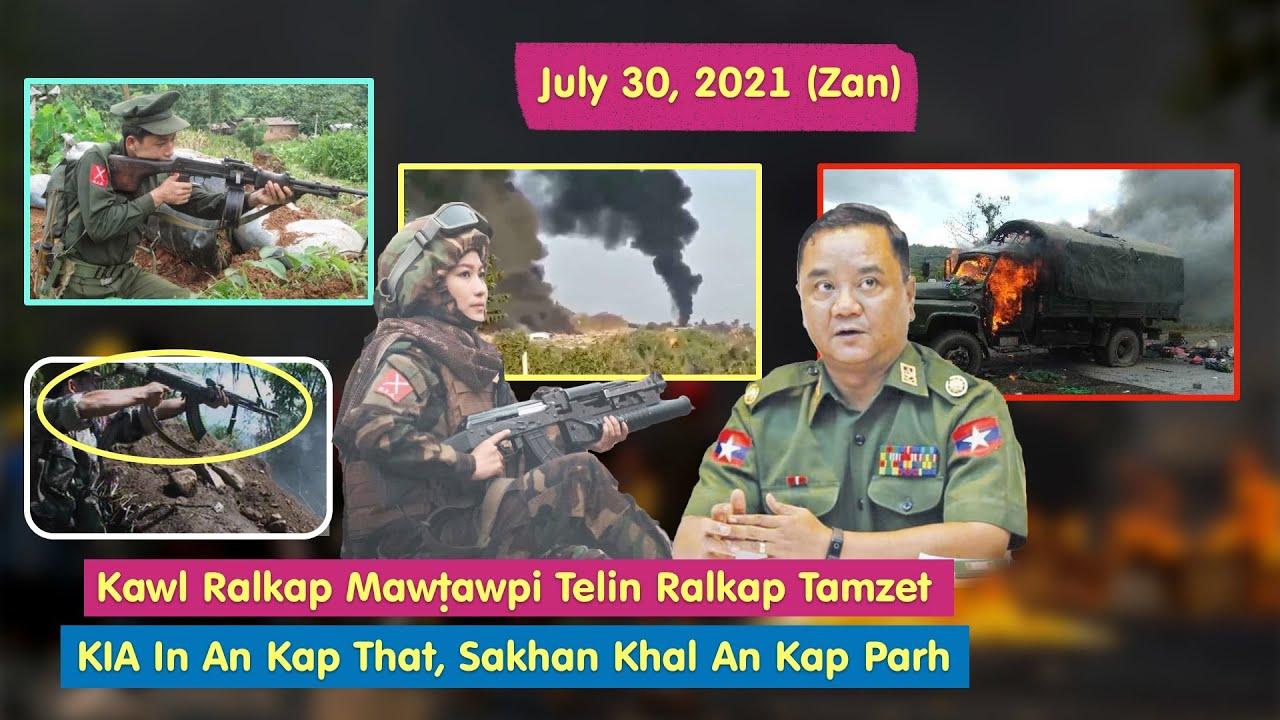 July 30 (Zan) - KIA In Ralkap Tamzet An Mawṭaw Cawpcilh In Kap That; Pale PDF In Venglal Hro
