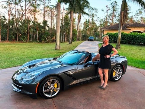 sold 14 corvette stingray convertible only 13k miles for sale by autohaus of naples 239 263. Black Bedroom Furniture Sets. Home Design Ideas