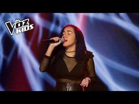 Keren canta Yo Te Esperaré  Audiciones a ciegas  La Voz Kids Colombia 2018