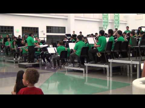 Ewa Makai Middle School Band Aloha Concert 2013