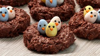 EASY Bird Nest Cookies for Easter! (Gluten Free)