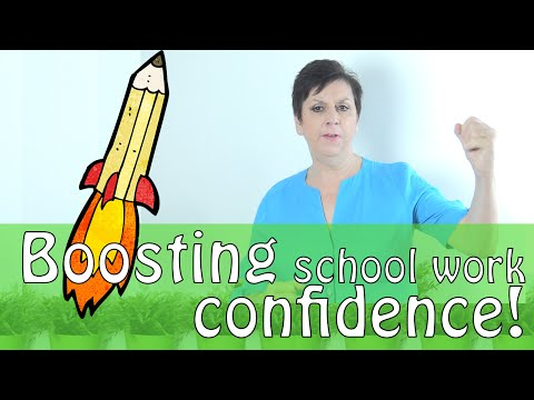 How to boost your child's confidence with School Work