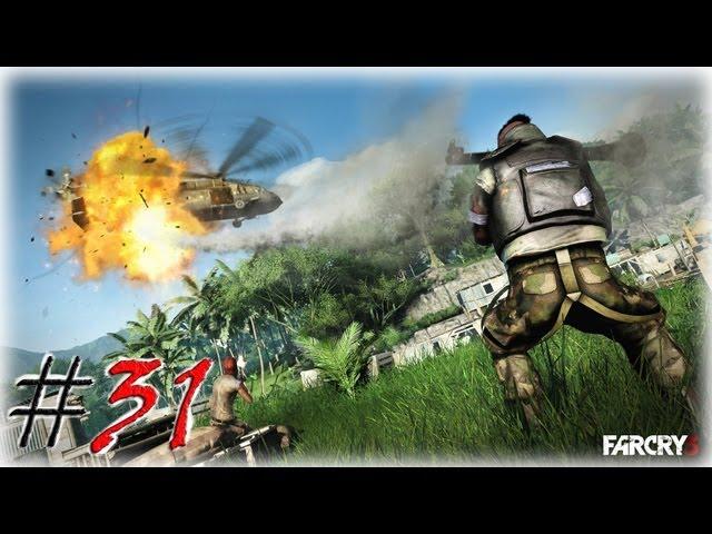 Смотреть прохождение игры Far Cry 3. Серия 31 - Стрельба! Взрывы! Экшн!