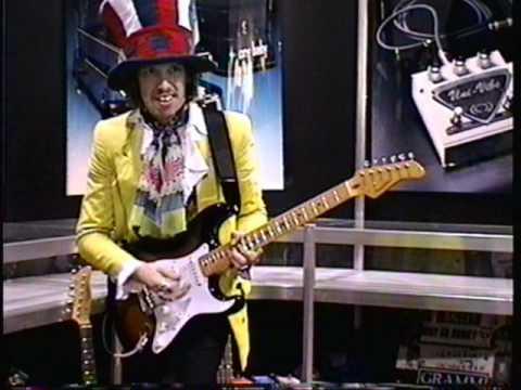 """Hendrix Impersonator, Randy Hansen 1996, """"Star Spangled Banner""""."""