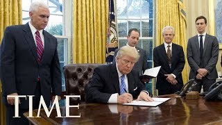 President Trump Signs Executive Order On Campus Free Speech | TIME