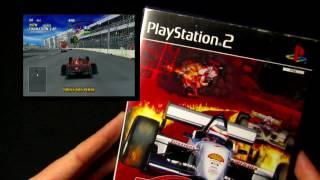 CART Fury Championship Racing - PS2/Playstation 2 Cover/Game