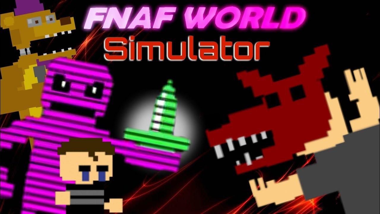 FNaF World Simulator | Episode 10 | Going Back In Time!