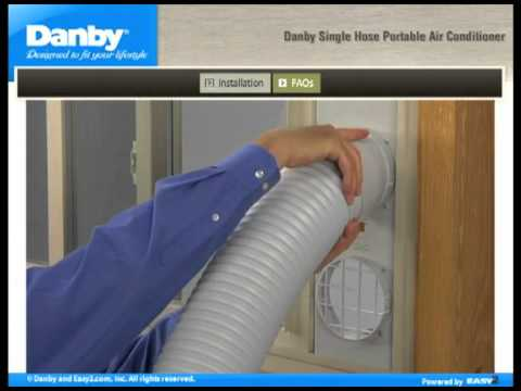 How To Install A Danby Single Hose Portable Air