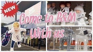 B&M   NEW IN AUTUMN/CHRISTMAS 2019   COME TO B&M WITH US   Haul