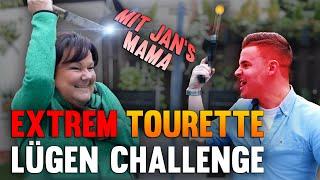 Tourette Lügenchallenge gegen Jans Mama! (Marion)