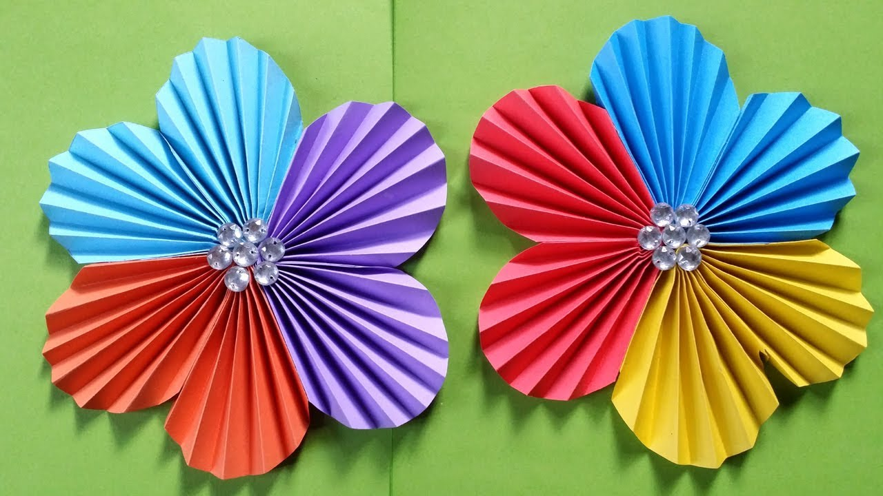 Easy Flowers To Make With Paper 4k Pictures 4k Pictures Full Hq