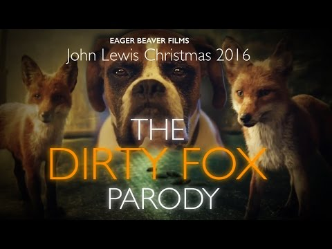 John Lewis Christmas Ad 2016: Dirty Fox Parody #bustertheboxer