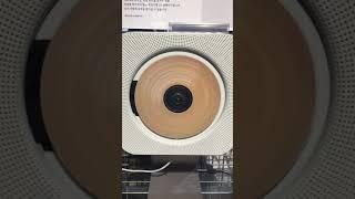 무인양품 벽걸이형 cd 플레이어 (연플리느낌)