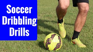 Soccer drill to help improve your ball control and skill | dribbling drills