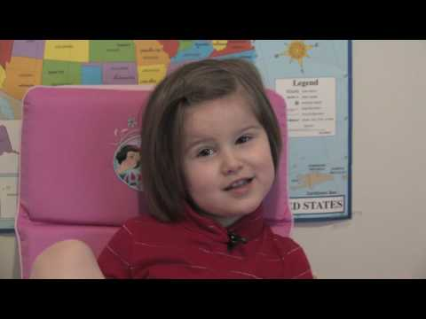 3 year old sings the Fifty Nifty