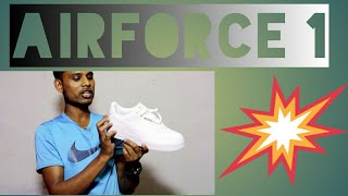 Nike Airforce 1 Unboxing + overview in Hindi