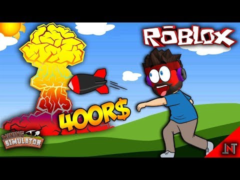 ROBLOX indonesia #126 Mining Simulator | Akhirnya Membeli Nuke Demi Kaya Raya