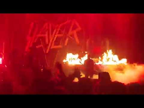 Raining Blood by Slayer! Valley View Casino Center in San Diego