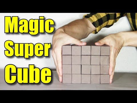 How to make a NEW Moving Cube paper 3D Super Magic Transformer DIY - Yakomoga - Infinity Cube