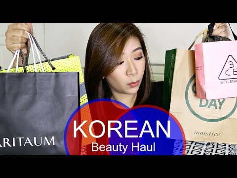 Korean Beauty Haul! (From Seoul Trip) | dygans90