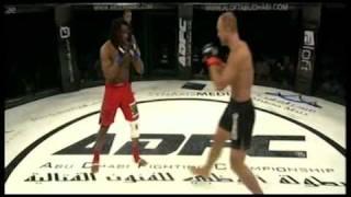 adfc dave herman vs soukoudjou main fight round 1