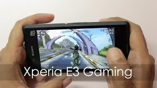 sony Xperia E3 Gaming Review / Benchmarks & Storage Issues