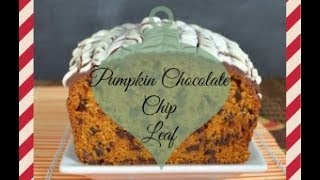 Pumpkin Chocolate Chip Loaf - Vlogmas Day 18!