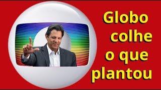 Globo terá que torcer por Haddad/Lula