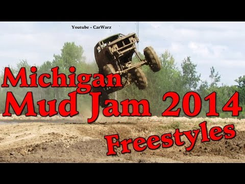 Full FreeStyle Competition At Michigan Mud Jam Mud Bog 2014