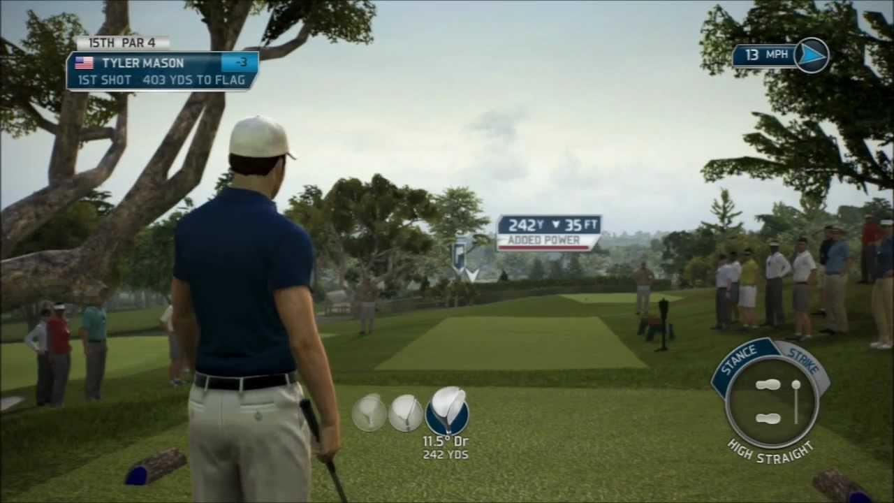 Tiger Woods PGA Tour 14 - Episode 2 ( Q School ) - YouTube