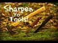 Field Sharpening Outdoor Tools
