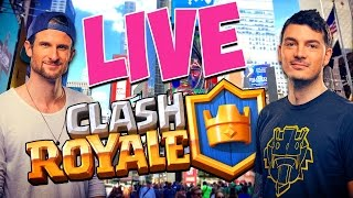 LIVE FROM TIMES SQUARE, NYC! Clash Royale Tournament / Meet-Up