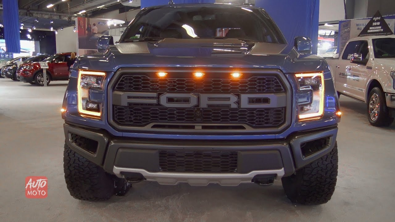 2019 ford f-150 raptor 4x4 - exterior and interior walkaround - 2019 montreal auto show