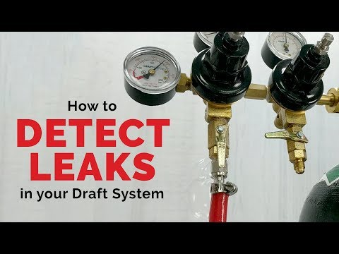 How To Detect Gas Leaks In Your Draft Beverage System
