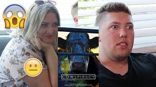 Non Vegans Watch Cowspiracy for the First Time!