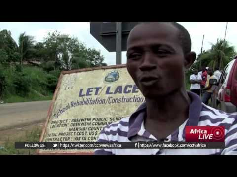 Heavy rains cut off Liberia
