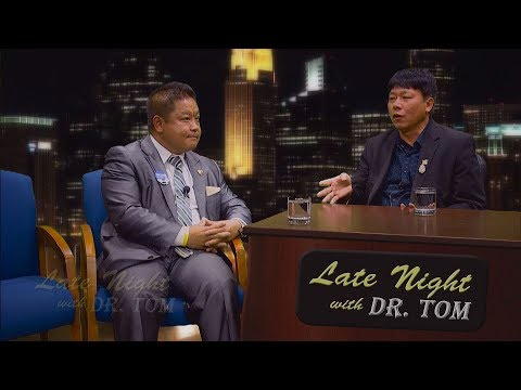 3 HMONG TV: Councilman Dai Thao is guest on Late Night with Dr. Tom.