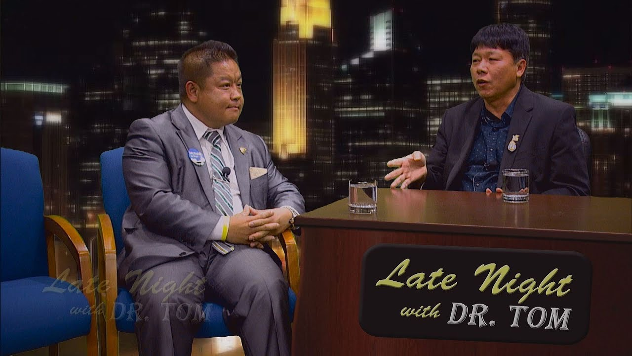 3 HMONG NEWS: Councilman Dai Thao is guest on Late Night with Dr. Tom.