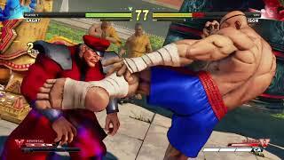STREET FIGHTER V Sagat vs M.Bison